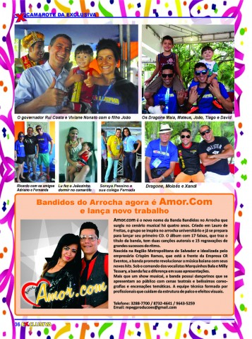 36 Camarote Revista EXCLUSIVA