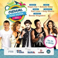 Carnaval de Nova Viçosa movimenta a economia do município
