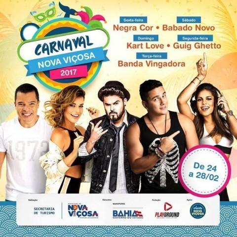 Nova Viçosa vai aquecer a economia com a realização do Carnaval