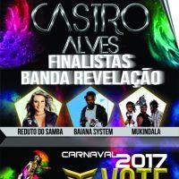 VOTAÇÃO ENCERRADA CATEGORIA BANDA REVELAÇÃO do Carnaval de Salvador 2017.