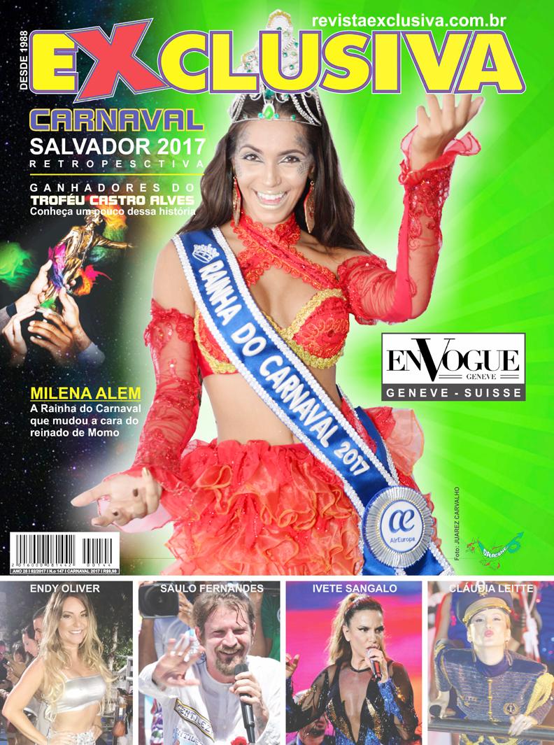 Capa da Edição Especial do Carnaval de Salvador, 2017 – Retrospectiva