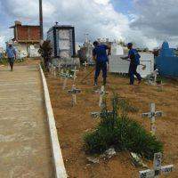 Cemitérios municipais terão 2500 novas vagas