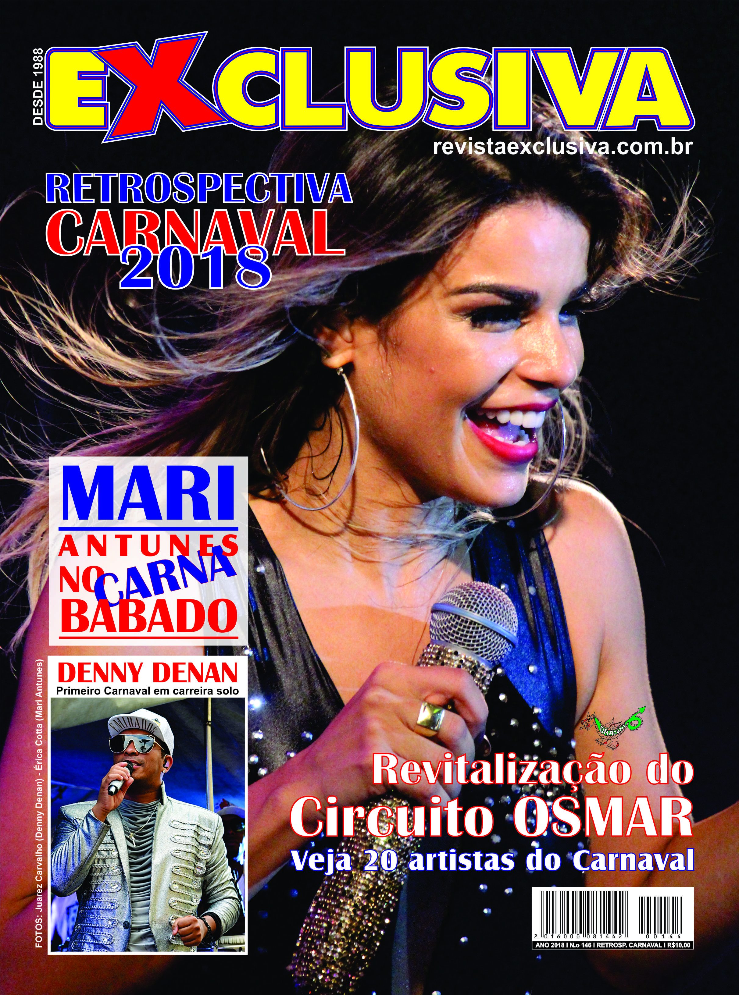 Capa da Edição Especial Retrospectiva do Carnaval de Salvador de 2108