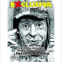 REVISTA EXCLUSIVA DE VARIEDADES PRETO NO BRANCO