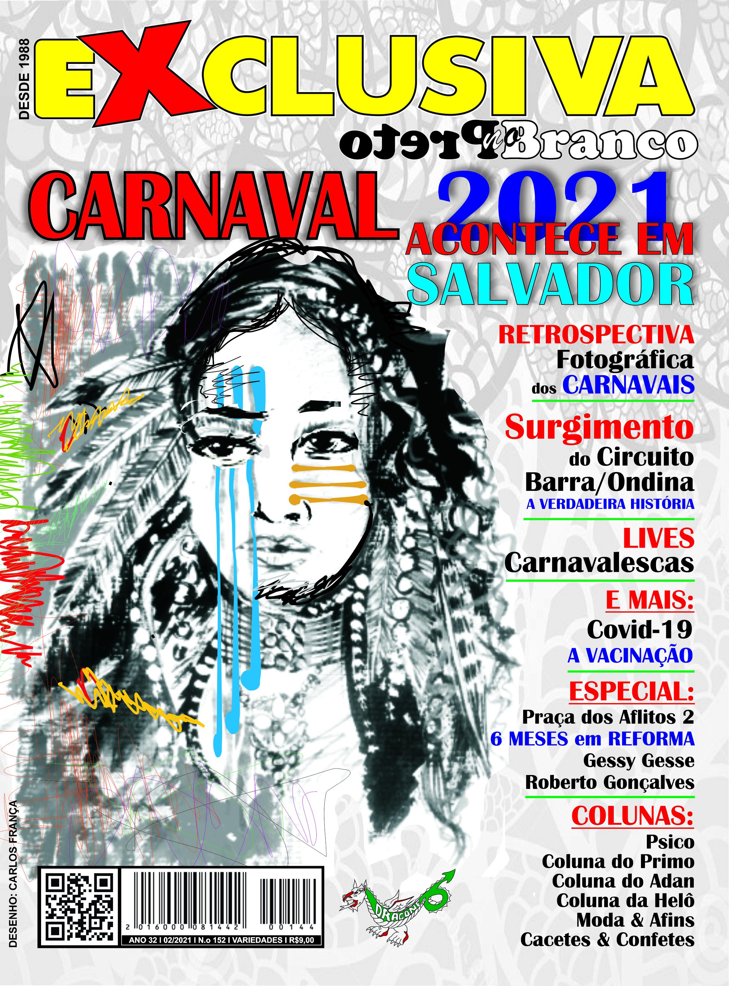 Revista EXCLUSIVA Edição Especial com o CARNAVAL Fevereiro 2021